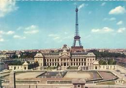 Cpsm -  Paris -  L 'école Militaire  , La Tour Eiffel      AH1047 - Educazione, Scuole E Università