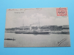 TANDJONG PRIOK ( ...olff & C° Batavia ) Weltevreden Anno 1909 BATAVIA / Ned. Indië / JAVA ( Zie / See / Voir Photo ) ! - Paquebots