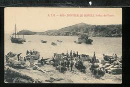 ESPAGNE SPAIN - San Feliu De Guixols - Trafico Del Puerto - Espagne