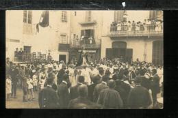 ESPAGNE SPAIN - Carte Photo Procession - Fête - Espagne