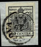 Östr. Lomb. Venetien Nr. 2 I X, Luxus   , #9222 - 1850-1918 Empire