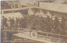 BELGIQUE OSTENDE SOLDATS BELGES APRES LA CHUTE D ANVERS GUERRE 1914 1918 - Guerre 1914-18