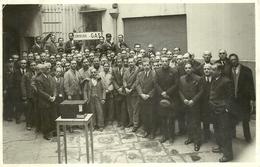 """2977 """" COMPAGNIA DEL GAS DI NAPOLI - FOTO DI GRUPPO DEL PERSONALE """" FOTO ORIGINALE - Persone Identificate"""