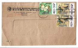Malaysia 1971 Butterflies Postal History Cover - Malaysia (1964-...)