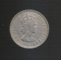 MAURITIUS - ONE RUPEE (1971) Queen Elizabeth II - Mauritius