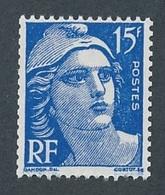 CP-111: FRANCE:  Lot   Avec N°886d** (issu De Roulette) - 1945-54 Marianne De Gandon
