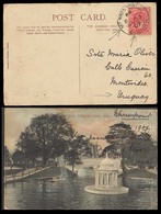 EIRE. 1907. Warren Point / Co. Down - Uruguay / Irish National Exhibition. Postcard / Fkd Cds. - Oblitérés