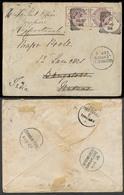 GREAT BRITAIN. 1886. Windsor - India / Madras. Over To Rajpootanah. Env Fkd 2 1/2d Hoip Pair / Cds. VF. - Grossbritannien
