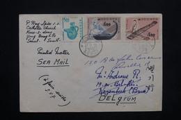 CORÉE - Enveloppe De Séoul Pour La Belgique En 1965 , Affranchissement Plaisant - L 25126 - Corée Du Sud