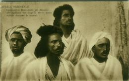 AFRICA - ERITREA -  CARAVANEERS BENI-AMER AND ABYSSINIANS - EDIZ. N. MONELA - 1910s ( BG2809) - Eritrea