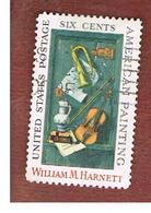 STATI UNITI (U.S.A.) - SG 1376   - 1969  W.M. HARNETT: OLD MODELS       - USED° - Stati Uniti