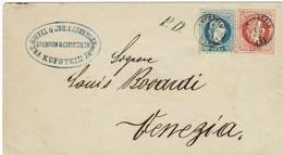 """1869, """" KUFSTEIN """" Nach Italien , #9225 - 1850-1918 Empire"""