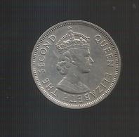 MAURITIUS - ONE RUPEE (1978) Queen Elizabeth II - Mauritius