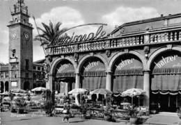 Italie - BERGAMO - Scorcio Del Sentierone E Torre Dei Caduti - Café Nazionale - Balzer - Bergamo