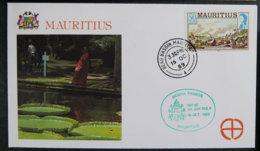 ILE MAURICE - MAURITIUS - 1989 - VISITE DU PAPE JEAN PAUL II - Mauritius (1968-...)
