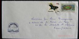 ILE MAURICE - MAURITIUS - 1992 - JOLIE ENVELOPPE - Mauritius (1968-...)