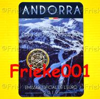 Andorra - 2 Euro 2019 Comm In Blister.(Wereldbeker Alpineskiën) - Andorra