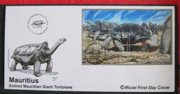 ILE MAURICE - MAURITIUS - 2009 - FDC - EXTINCT MAURITIAN GIANT TORTOISES - Maurice (1968-...)