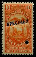 1917-1918 Ecuador - Ecuador