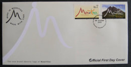 ILE MAURICE - MAURITIUS - 2009 - FDC - THE NEW BRAND IDENTITY LOGO OF MAURITIUS - Maurice (1968-...)
