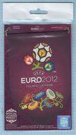 UKRAINE / Pennant  / POLAND /  Football. Europe Championship. UEFA . EURO 2012. - Uniformes Recordatorios & Misc