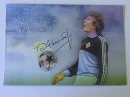 Cate Postale Pat JENNNINGS - Dédicace - Hand Signed - Autographe Authentique  - - Football