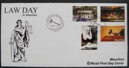ILE MAURICE - MAURITIUS - 2012 - FDC - LAW DAY - Mauritius (1968-...)