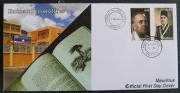 ILE MAURICE - MAURITIUS - 2012 - FDC - EMINENT PERSONNALITY - Maurice (1968-...)