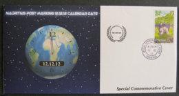 ILE MAURICE - MAURITIUS - 2012 - COMMEMORATIVE - 12.12.12 CALENDAR DATE - Maurice (1968-...)