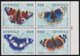 Sweden   .     Facit   .   2154/2157           .          MNH   .   /.    Postfris - Zweden