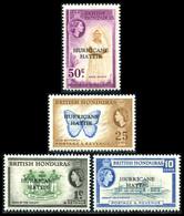 1962 British Honduras (4) Set - British Honduras (...-1970)