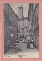 OLD POSTCARD - ITALY - ITALIA -      GENZANO - ANIMATED - Altri