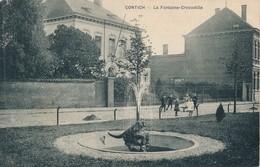 CPA - Belgique - Kontich - Contich - La Fontaine-Crocodille - Kontich