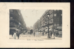 Frankrijk France - Lille - Rue Faidherbe - Sable - Tram - 1912 - France