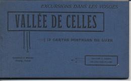 CPA -88 Vosges - Carnet De  12 CP Vallée De Celles - France