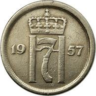 Monnaie, Norvège, Haakon VII, 25 Öre, 1957, TTB, Copper-nickel, KM:401 - Norvège
