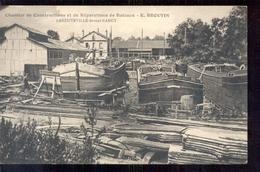 Frankrijk France - Laneuveville Nancy - Chantier Constructions Reparations Bateaux Broutin - 1915 - Unclassified