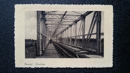 """Old Postcard - Deventer, Spoorbrug. N.V. Uitg. Mij """"Rembrandt"""" Utrecht Nº10. - Deventer"""