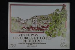 Etiquette De Vin Neuve Vin De Pays - Languedoc-Roussillon