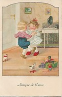 CPA  Enfants Qui Dansent - Cartes Humoristiques