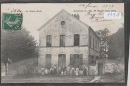 Cpa 1758 Eve La Mairie école Construite En  1862 Mr Bernier étant Maire - France