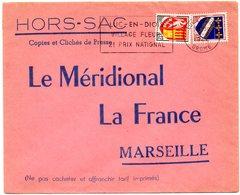 DROME - Dépt N° 26 = LUC En DIOIS 1964 = Flamme Non Codée = SECAP 'VILLAGE FLEURI / 2e PRIX NATIONAL ' - Marcophilie (Lettres)