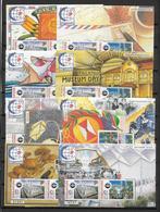 SINGAPORE - YVERT BF N° 36 ** MNH Les 10 BLOCS DIFFERENTS - COTE = 140 EUR. - Singapour (1959-...)