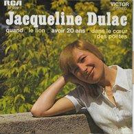 """Jacqueline Dulac 45t. EP """"quand"""" - Autres - Musique Française"""