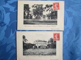 St Gracien . 2 Cartes . Residence De La Princesse Mathilde Bonaparte - Saint Gratien