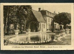CPA - Château La Mission Haut Brion - Grand Premier Cru - France