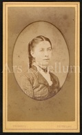 Photo-carte De Visite / CDV / Femme / Woman / Photographer H. X. Harcq / Bruxelles / 2 Scans - Foto's