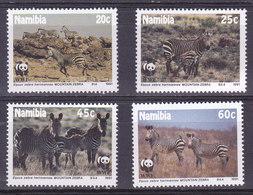 NAMIBIE,  N°659/662,  1991, Cote: 11€, Zebres ( W1903/072) - Namibie (1990- ...)