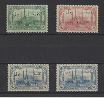 TURQUIE .  YT  Timbes Taxe  N° 51/54   Neuf *  1913 - Timbres-taxe