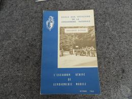 L'Escadron Dérivé De La Gendarmerie Nationale - Document D'étude - 0/05 - Livres, BD, Revues